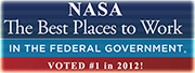 NASA Award - Best Places to Work